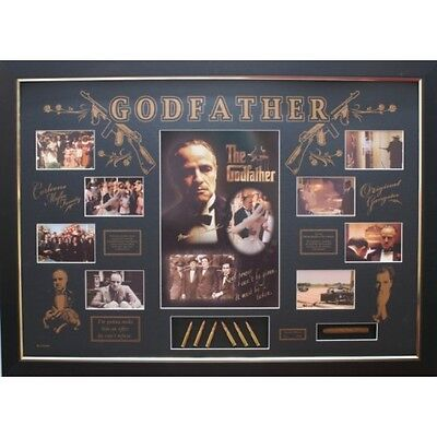 Marlon Brando Signed Photo Godfather Movie Memorabilia Limited Edition & FRAMED