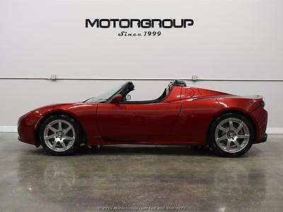 2010 Tesla Roadster Base Convertible 2-Door 2010 Tesla Roadster 2.0 Hard Top, FRESH BATTERY, ONE OWNER, $985/month