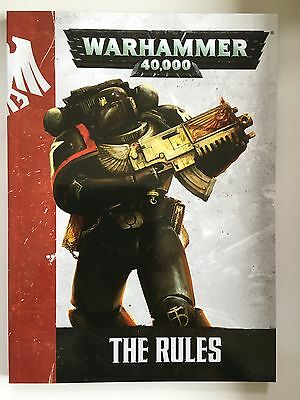 Warhammer 40000 A5 Softcover Rule book with Kill Team Space Marine on cover