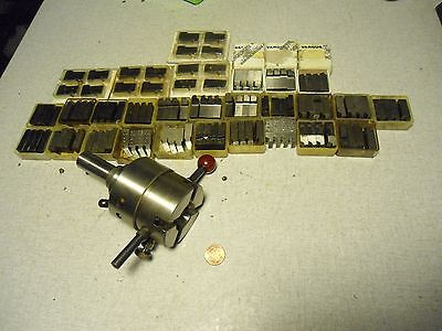 "Geometric Rubometric D 9/16"" Die Head Threading with 28 chaser sets .750"" shank"
