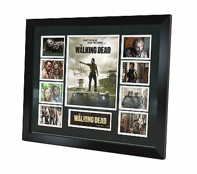 The Walking Dead - Signed Photo - Memorabilia - Framed - Limited Edition