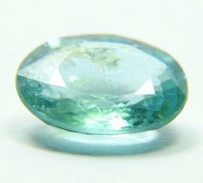 Paraiba color, Apatite Gemstone 2.20ct 8x10mm, great blue neon, oval, African