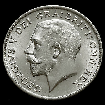 1921 George V Silver Sixpence – UNC #2