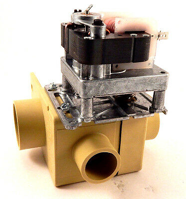 Wascomat 471 921963 Depend-O-Drain Valve, 2 inch, 220-240V/50-60, w/Overflow