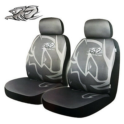 Holden Racing Team HTR 2 Front Seat Covers Grey