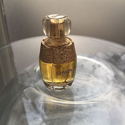 New YSL CHAMPAGNE Perfume Edt 7.5 ml Discontinued Spray Bottle VINTAGE No box