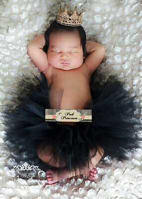 Metallic Gold Princess Lace Crown, Baby Photo Prop, Baby Shower Decor, Gift,