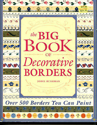Painting  Book -  The Big Book Of Decorative Borders