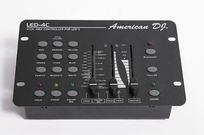 AMERICAN DJ LED-4C / 4 Channel DMX CONTROLLER FOR LED'S