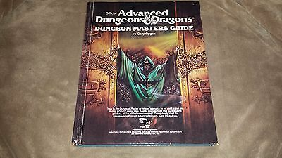 Dungeons & Dragons Dungeon Masters Guide - Hard Cover - 1979 - OOP