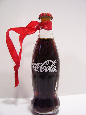 Coca Cola bottle Christmas tree ornament