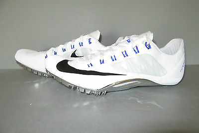 NIKE ZOOM SUPERFLY R4 Size 13 White/Black/Racer Blue Fast $120