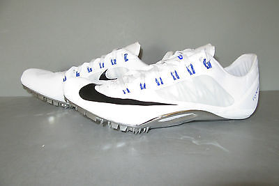 NIKE ZOOM SUPERFLY R4 Size 7 White/Black/Racer Blue Fast $120