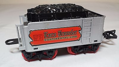 Silver Tender EURO TRAVELER Plastic Train Car Model Railroad No. 2 Gauge II