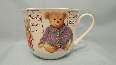 My Favorite Teddies Bone China Cup Roy Kirkham England 1997