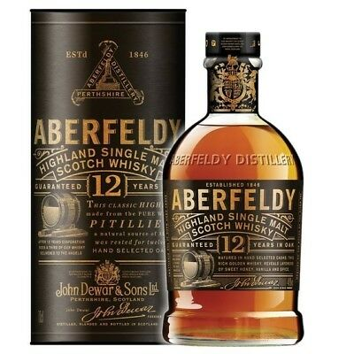 Aberfeldy 12yo Single Malt Scotch Whisky 700ml