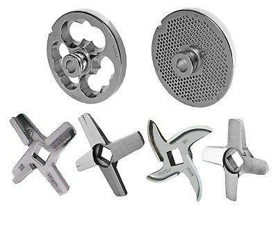 Hole Disc with Hub for Meat Grinders Sizes 32 with all Holes