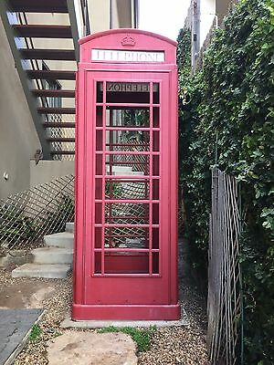 English Phone Booth / English Phone Box - Authentic