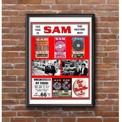 Sam the Record Man Tribute Poster - Canada's Legendary Record Store Institution