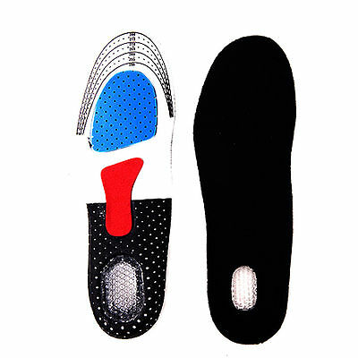 WOW New Unisex Orthotic Arch Support Shoe Pad Sport Running Gel Insert Cushion