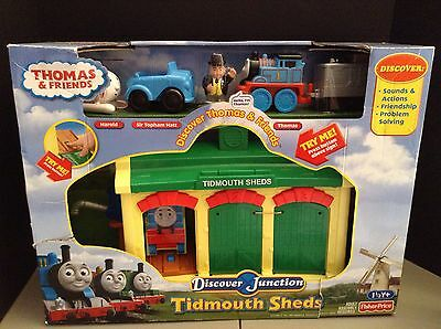 TIDMOUTH SHEDS DISCOVER Junction Thomas And Friends Set Mib - $20.00 ...