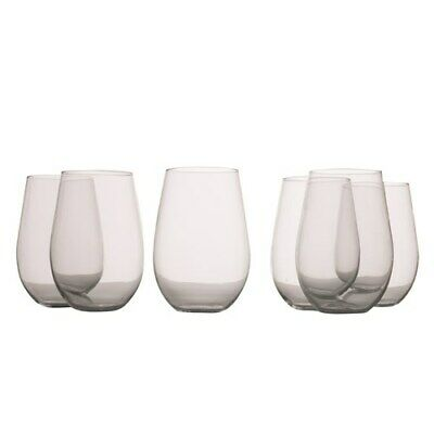 New Maxwell & Williams Mansion Stemless Red Wine Glass 580ml Set of 6