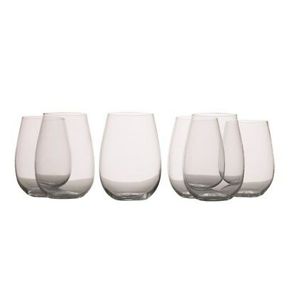 New Maxwell & Williams Mansion Stemless White Wine Glass 500ml Set of 6