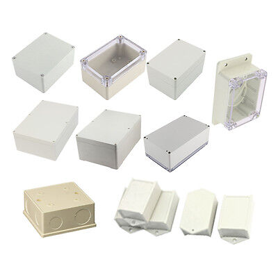 Clear Cover Plastic Electronic Project Junction Box 100 x 68 x 50mm S6H