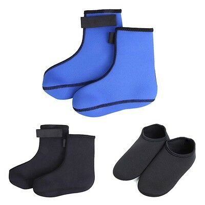 Neoprene Scuba Surfing Snorkeling Water Sports Diving Socks 2.5Mm Black XL