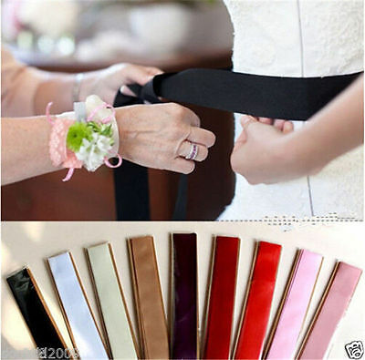 Bridal Wedding Accessories Sash Belt Colorful Fashionable 265*3.8cm