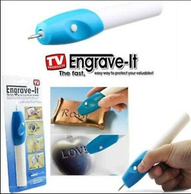 Engraver HandHeld Electric Engraving Pen Use on steel,wood,electronics,valuables
