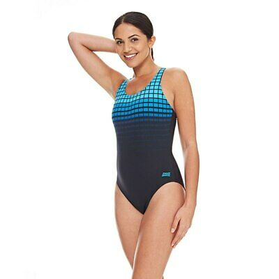 NEW Zoggs Womens Darwin Actionback - Blue from Ezi Sports Store