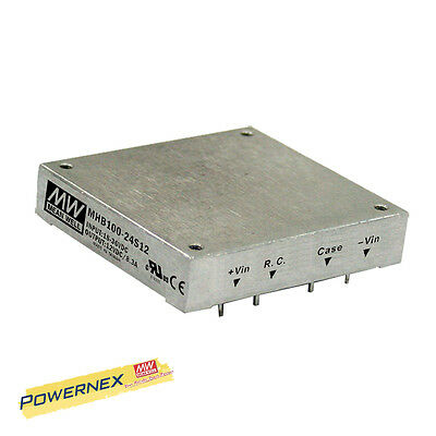 MEAN WELL [PowerNex] NEW MHB100-48S05 5V 20A 100W 48VDC Converter