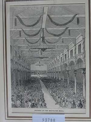 93788-NRW-Bonn-Beethoven Halle-T Holzstich-Wood engraving
