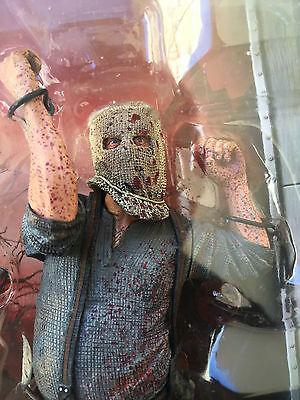 RESIDENT EVIL 4 chainsaw ganado BLOODY VARIANT Action Figure NECA BIOHAZARD New