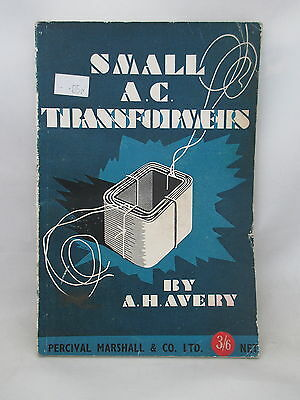 1948 Small A.c.transformers Percival Marshall