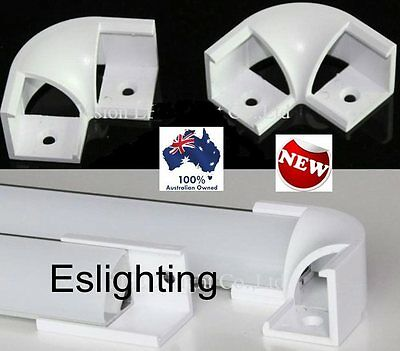 4X Aluminium Profile Channel Corner Connector Joiner Led Strip Light Ap1616