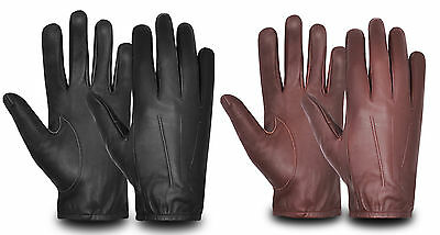 Premium Real Sheep Nappa Leather Chauffeur Style Driving Gloves Outdoor Walking