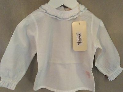 Baby unisex frill collar blouse/ shirt 6 or 9 months BNWT spanish/ Romany