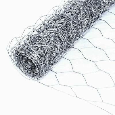 "ALEKO 50 Feet Mesh Wire Roll Cloth 20 Gauge Steel 2"" Mesh WM36X50M2G20"