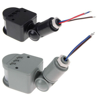 12V DC Outdoor Automatic Infrared PIR Human Motion Sensor Switch for LED Light
