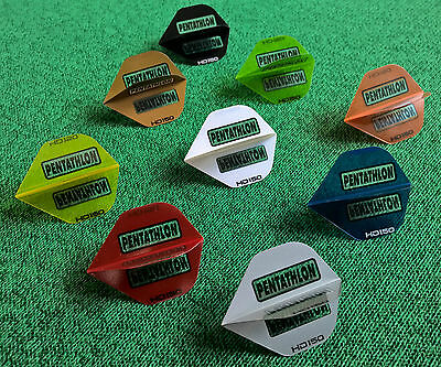 60 Stück Pentathlon HD150 Dart Flights 20 Sets Ruthless RV150 Dartsflight Fly