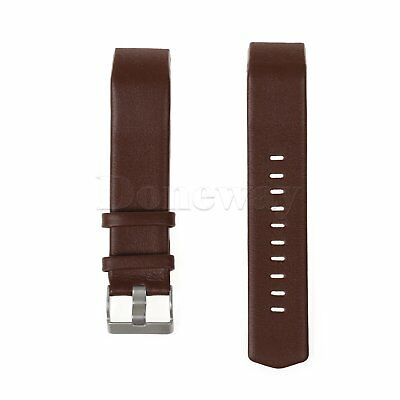 Genuine Leather Smart Watch Band Wrist Strap For Fitbit Charge 2 Fitness Tracker