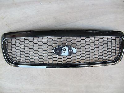 Ford Crown Victoria Grille 1998-2011 Black Chrome Style 6W7Z-8200-Aa Exclusive