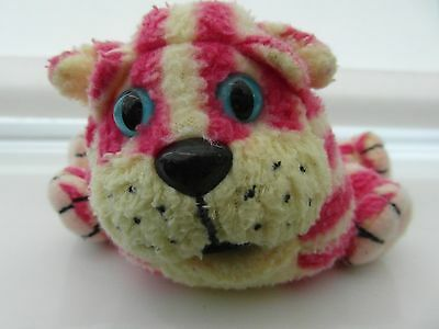 Official Vintage 1999 Bagpuss the Cat Soft Plush  Beanie Toy 22cm Head to Tail