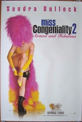 Miss Congeniality 2: Armed and Fabulous (2005) S/S Int ADV One-Sheet Poster