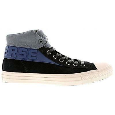 info for c4f10 8e6c1 Mens CONVERSE CT BAND MID Black Suede Trainers 147825C UK 8.5 EUR 42