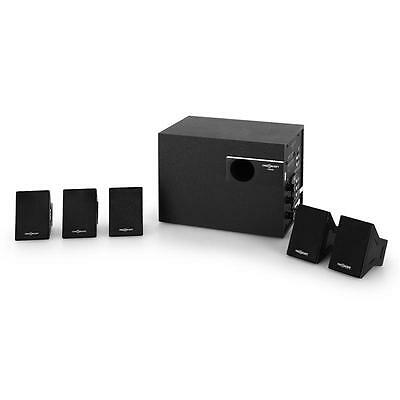 5.1  Speaker System Surround Sound Home Cinema 40W Rms Active Subwoofer Music