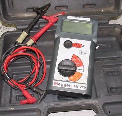 Megger MIT220 Insulation and Continuity Tester Vat Included