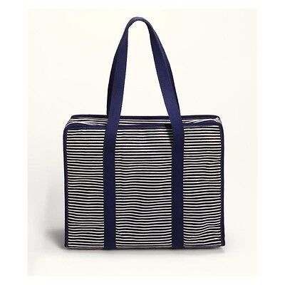 Prym All-in-one Tasche Denim and Stripes blau L mit 3 Innentaschen 612123